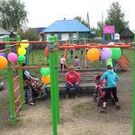 Игровая площадка в Афонино