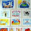 В рисунках детей — семья и счастье
