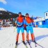 №2. Март 2017 г. Наши шахтеры приняли участие в Кубке мира мастеров по лыжным гонкам в Швейцарии
