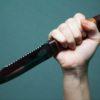 Бросил в возлюбленную кухонный нож