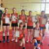 Киселевские волейболистки стали лучшими