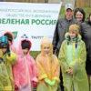 Молодые елочки от ГК ТАЛТЭК прижились и украшают село в Прокопьевском районе