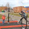 В Киселевске при поддержке фонда»СУЭК-РЕГИОНАМ» открыта воркаут-площадка
