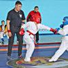 Открытое первенствоМБУ КГО «Спортивнаяшкола» по рукопашному бою