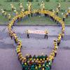Кузбасский трудовой отряд СУЭК поддержал флешмобом Фестиваль #ВместеЯрче–2019