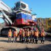 Разрез компании «СУЭК-Кузбасс» досрочно встретил производственный новый год