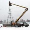 Работа катка и лыжной базы