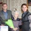Труженица тыла, ветеран шахты «Березовская» Елизавета Ременникова отметила 95-летний юбилей